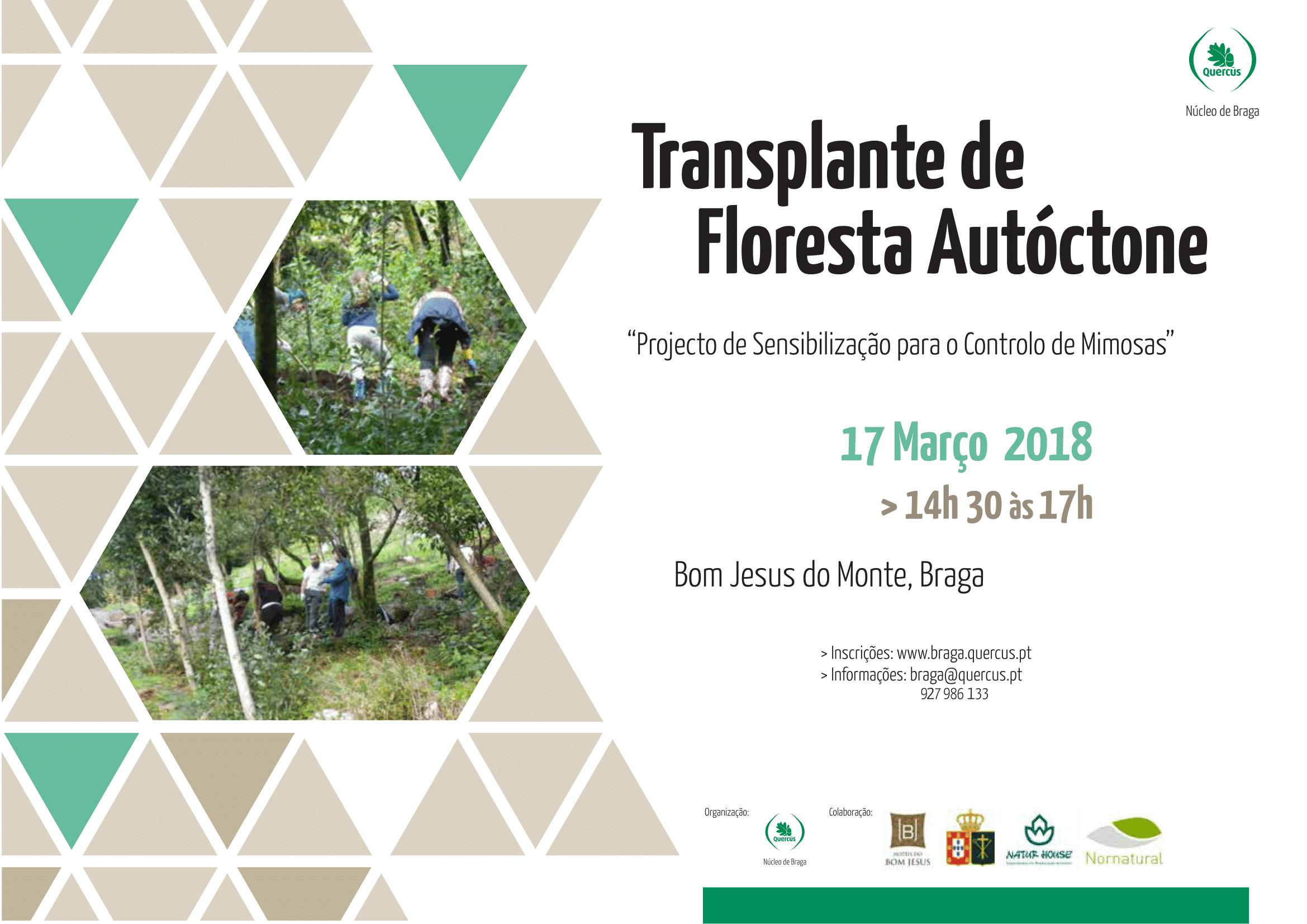 Cartaz Transplante da floresta autoctone março 2018 1
