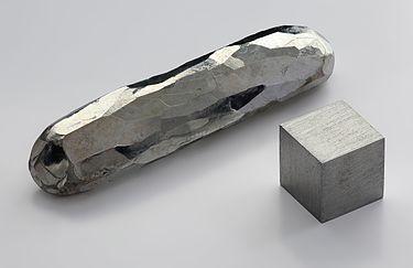 Cadmium crystal bar