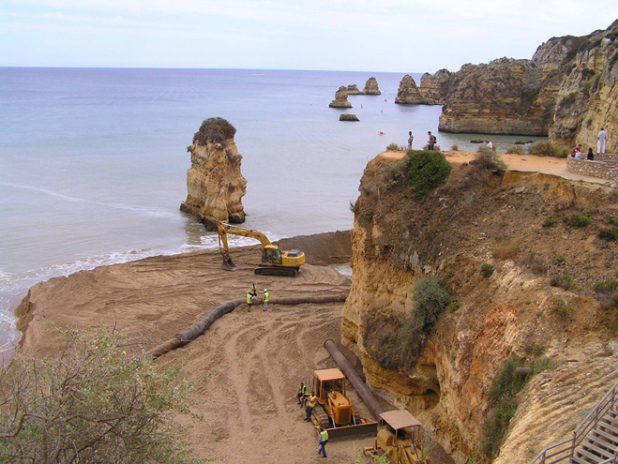Obras praia d ana