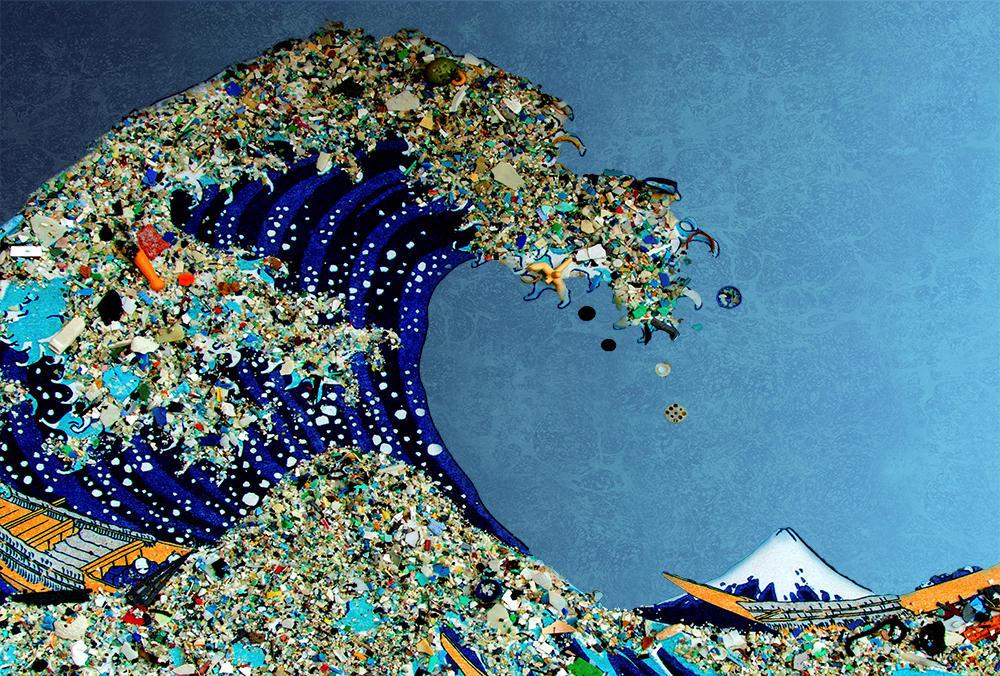 oceano de lixo