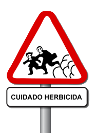 herbicida transparente