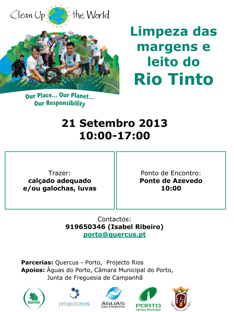 clean up the world 2013 porto
