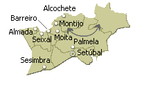nucleo setubal area